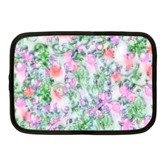 Softly Floral A Netbook Case (medium)  by MoreColorsinLife