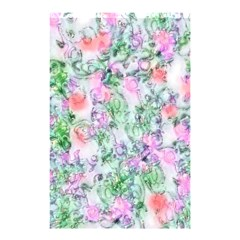 Softly Floral A Shower Curtain 48  X 72  (small)  by MoreColorsinLife