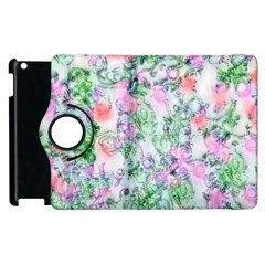 Softly Floral A Apple Ipad 2 Flip 360 Case by MoreColorsinLife