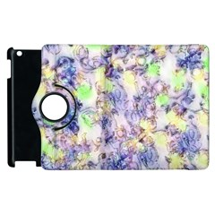 Softly Floral B Apple Ipad 3/4 Flip 360 Case by MoreColorsinLife