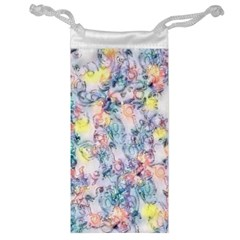 Softly Floral C Jewelry Bag by MoreColorsinLife