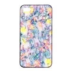 Softly Floral C Apple Iphone 4/4s Seamless Case (black) by MoreColorsinLife
