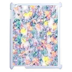 Softly Floral C Apple Ipad 2 Case (white) by MoreColorsinLife