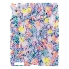 Softly Floral C Apple Ipad 3/4 Hardshell Case by MoreColorsinLife