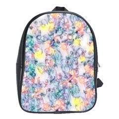 Softly Floral C School Bags (xl)  by MoreColorsinLife