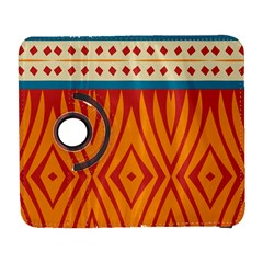 Shapes In Retro Colors Samsung Galaxy Note Ii Flip 360 Case by LalyLauraFLM