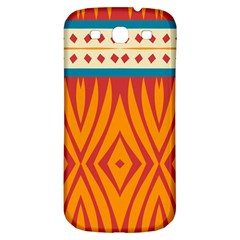 Shapes In Retro Colors Samsung Galaxy S Iii Flip 360 Case by LalyLauraFLM