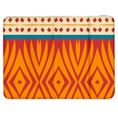 Shapes In Retro Colors Htc One M7 Hardshell Case by LalyLauraFLM