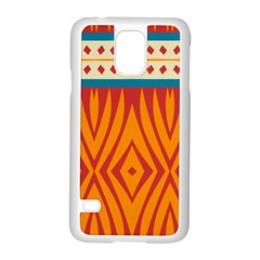 Shapes In Retro Colors Motorola Moto G (1st Generation) Hardshell Case by LalyLauraFLM