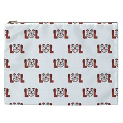 Lol Emoji Graphic Pattern Cosmetic Bag (xxl)  by dflcprints
