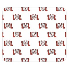 Lol Emoji Graphic Pattern Double Sided Flano Blanket (small)  by dflcprints