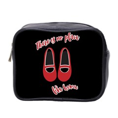 There Is No Place Like Home Mini Toiletries Bag 2 Side by Valentinaart