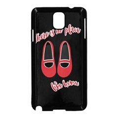 There Is No Place Like Home Samsung Galaxy Note 3 Neo Hardshell Case (black) by Valentinaart