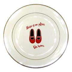 There Is No Place Like Home Porcelain Plates by Valentinaart