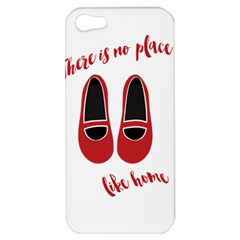 There Is No Place Like Home Apple Iphone 5 Hardshell Case by Valentinaart
