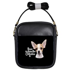 Chihuahua Girls Sling Bags by Valentinaart