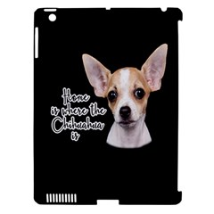 Chihuahua Apple Ipad 3/4 Hardshell Case (compatible With Smart Cover) by Valentinaart