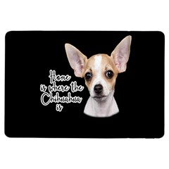 Chihuahua Ipad Air Flip by Valentinaart