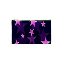 Background With A Stars Cosmetic Bag (xs) by Nexatart