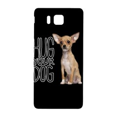 Chihuahua Samsung Galaxy Alpha Hardshell Back Case by Valentinaart