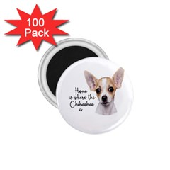 Chihuahua 1 75  Magnets (100 Pack)  by Valentinaart