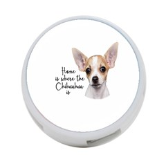Chihuahua 4 Port Usb Hub (one Side) by Valentinaart
