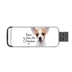 Chihuahua Portable Usb Flash (two Sides) by Valentinaart