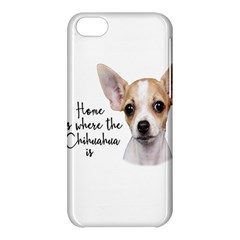 Chihuahua Apple Iphone 5c Hardshell Case by Valentinaart