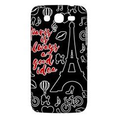 Paris Samsung Galaxy Mega 5 8 I9152 Hardshell Case  by Valentinaart