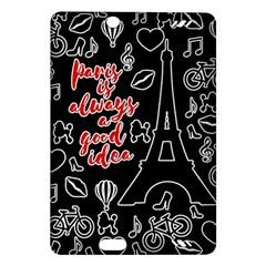 Paris Amazon Kindle Fire Hd (2013) Hardshell Case by Valentinaart