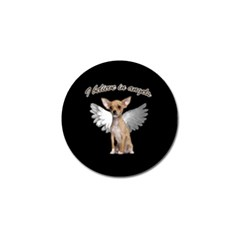 Angel Chihuahua Golf Ball Marker (10 Pack) by Valentinaart