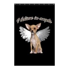 Angel Chihuahua Shower Curtain 48  X 72  (small)  by Valentinaart