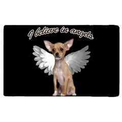 Angel Chihuahua Apple Ipad 3/4 Flip Case by Valentinaart