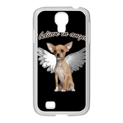 Angel Chihuahua Samsung Galaxy S4 I9500/ I9505 Case (white) by Valentinaart