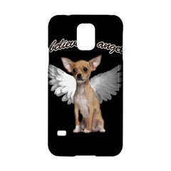 Angel Chihuahua Samsung Galaxy S5 Hardshell Case  by Valentinaart