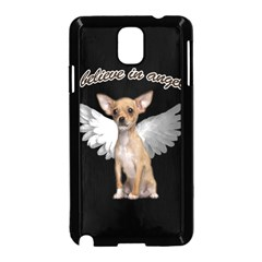 Angel Chihuahua Samsung Galaxy Note 3 Neo Hardshell Case (black) by Valentinaart