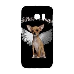 Angel Chihuahua Galaxy S6 Edge by Valentinaart