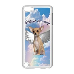 Angel Chihuahua Apple Ipod Touch 5 Case (white) by Valentinaart