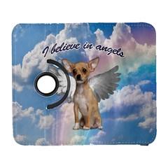 Angel Chihuahua Galaxy S3 (flip/folio) by Valentinaart