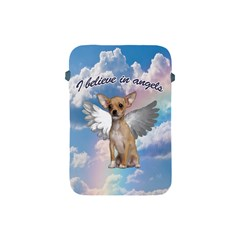 Angel Chihuahua Apple Ipad Mini Protective Soft Cases by Valentinaart