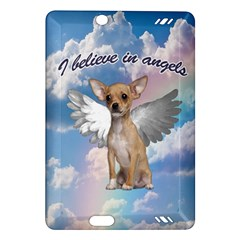 Angel Chihuahua Amazon Kindle Fire Hd (2013) Hardshell Case by Valentinaart