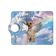 Angel Chihuahua Kindle Fire Hd (2013) Flip 360 Case by Valentinaart