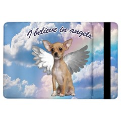 Angel Chihuahua Ipad Air Flip by Valentinaart