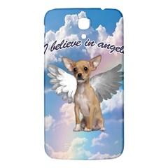 Angel Chihuahua Samsung Galaxy Mega I9200 Hardshell Back Case by Valentinaart