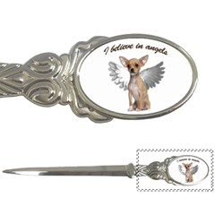 Angel Chihuahua Letter Openers by Valentinaart