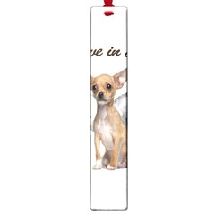 Angel Chihuahua Large Book Marks by Valentinaart