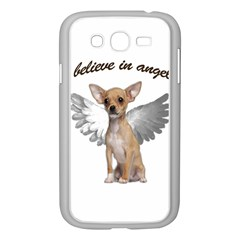 Angel Chihuahua Samsung Galaxy Grand Duos I9082 Case (white) by Valentinaart