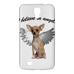 Angel Chihuahua Samsung Galaxy Mega 6 3  I9200 Hardshell Case by Valentinaart