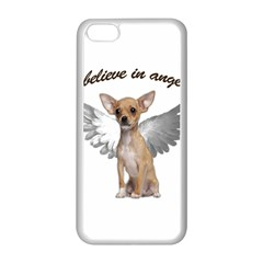 Angel Chihuahua Apple Iphone 5c Seamless Case (white) by Valentinaart