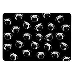 Pug Dog Pattern Samsung Galaxy Tab 8 9  P7300 Flip Case by Valentinaart
